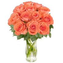 "Bouquet of orange roses ""Bliss"" (without vase)"