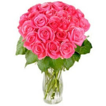 "Bouquet of pink roses ""Rosy Reveries"" (without vase)"