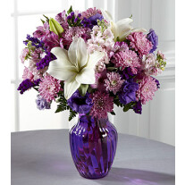 C17-5187 The FTD® Shades of Purple™ Bouquet