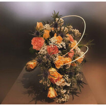 Bridal Bouquet with seasonal flowers