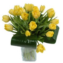 "Bouquet of tulips ""Warmest wishes"" (without vase)"